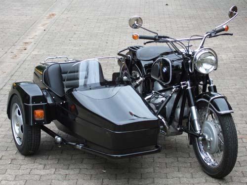 Bmw R69 Mit Seitenwagen Spatz