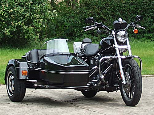 Harley Davidson With Sidecar