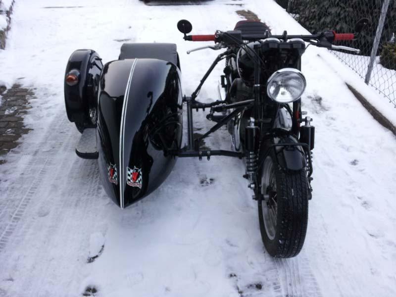 Kawasaki Sidecar