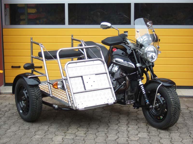 Moto Guzzi Breva Sidecar